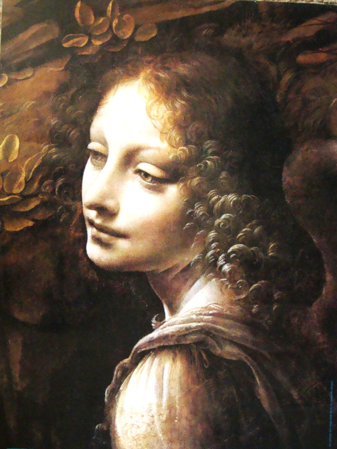 From The Virgin of the Rocks, Leonardo da Vinci The National Gallery, London, public domain image