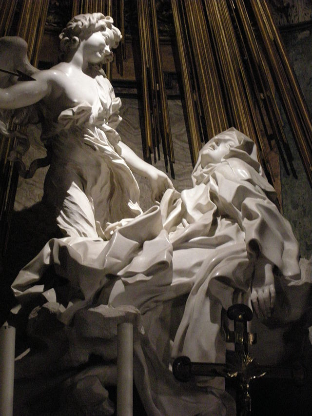 Ecstasy of Saint Teresa, by Gian Lorenzo Bernini Courtesy I. Sailko, Wikipedia