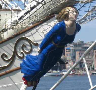 Ship's Figurehead Courtesy Andrea Malz, Wikipedia.org