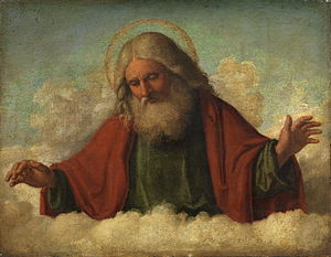 God the Father, by Cima da Conegliano Courtesy Wikipedia.org