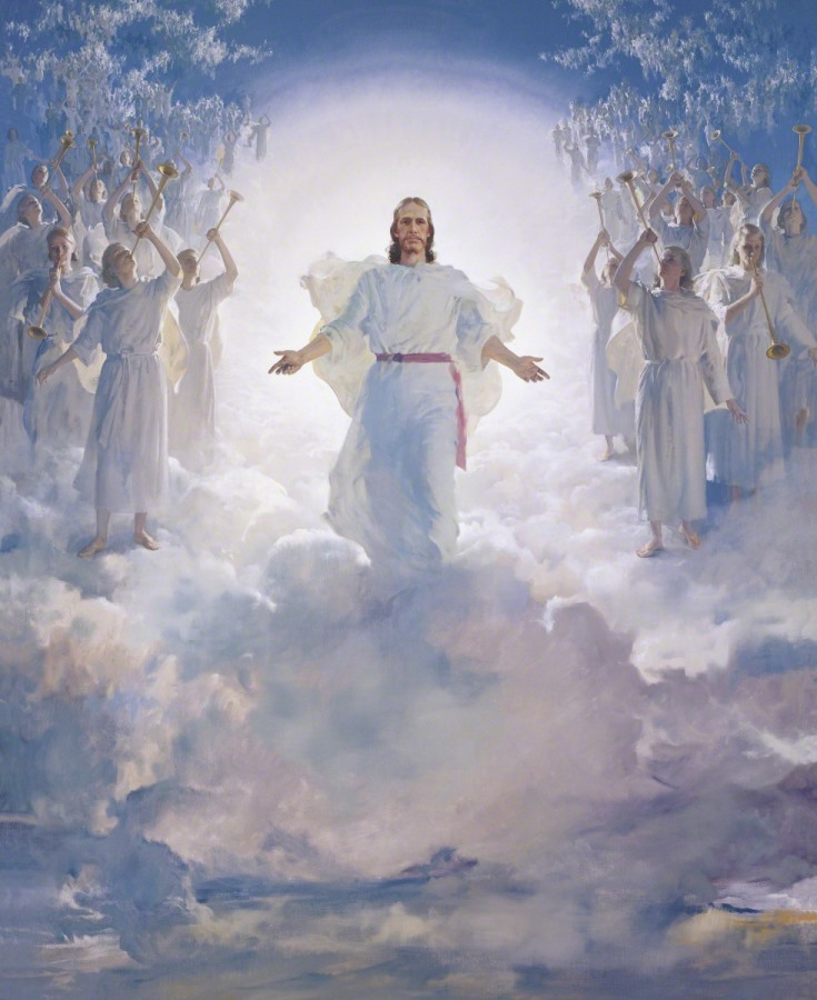 The Second Coming by Harry Anderson Courtesy The Church of Jesus Christ of Latter-day Saints