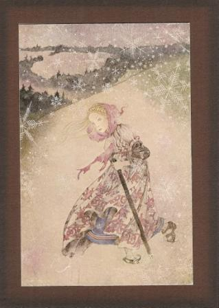Winter Pilgrim, from Greeting Card